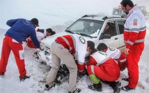 امدادرسانی به بیش از 1200 نفر از متاثران حوادث طی سه روز گذشته