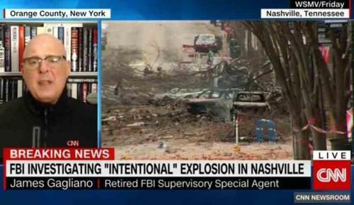 تحلیل مامور سابق اف بی آی از پیغام عاملان انفجار ایالت تنسی، احتمالا وقایع دیگری در راه است