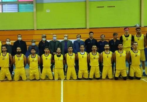بازدید علی نژاد از اردوی تیم ملی بسکتبال ناشنوایان