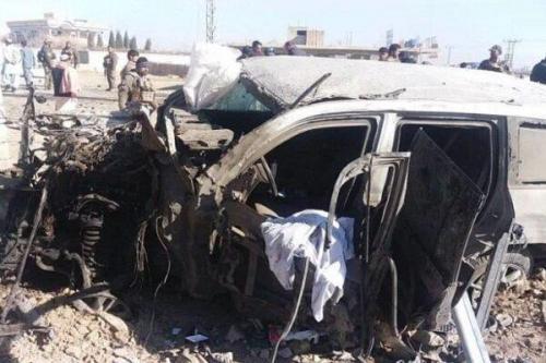 خودرو مشاور حقوقی مجلس افغانستان هدف قرار گرفت