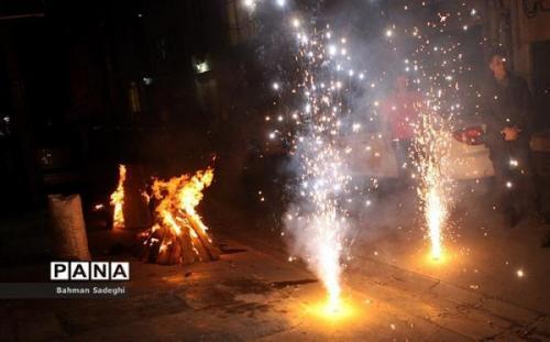 هلال احمر دوره آموزش ایمنی مراسم چهارشنبه سوری برگزار می نماید