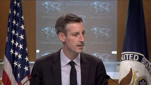 خبرنگاران واکنش آمریکا به سفر گروسی به ایران: جهت دیپلماسی باز است