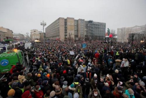 روسیه جریمه اعتراضات را افزایش داد