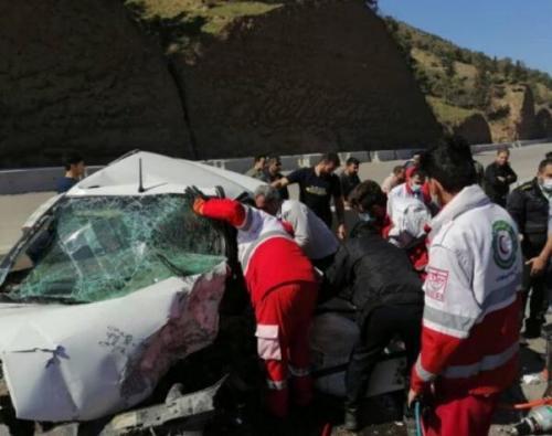 خبرنگاران تصادف در جاده کندوان سب مرگ 2 نفر شد
