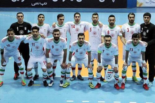 تایید حضور تیم ملی فوتسال ایران در سید دوم جام جهانی
