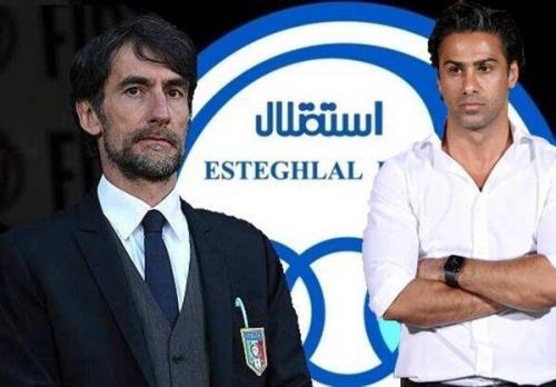 تصمیم مهم هیات مدیره استقلال، تکلیف مربی ایتالیایی آبی ها تعیین شد