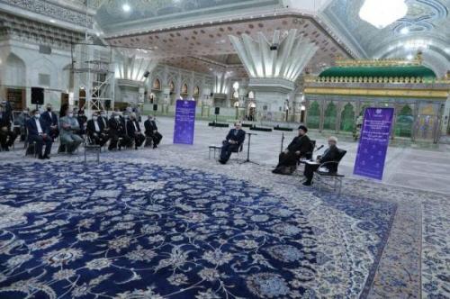 ادای احترام ظریف به بنیانگذار جمهوری اسلامی ایران، عکس