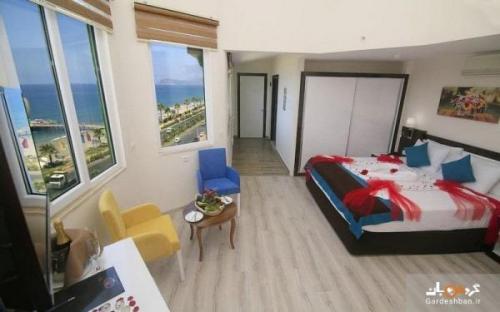 کلاس مور بیچ؛ از هتل های محبوب و پنج ستاره در شهر آلانیای ترکیه، عکس