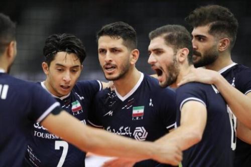 پیروزی تیم ملی والیبال ایران برابر کره جنوبی و صعود به نیمه نهایی